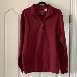 Men's Orvis sweater/sweatshirt, size Small.